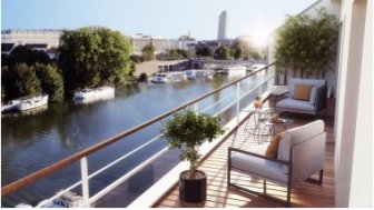 Appartements neufs L'Embarcadère éco-habitat à Nantes