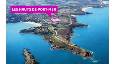 Appartements et maisons neuves Les Hauts de Port Mer éco-habitat à Cancale
