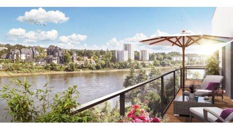 Appartement neuf Soleil de Loire éco-habitat à Nantes