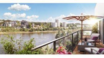 Appartements neufs Soleil de Loire éco-habitat à Nantes