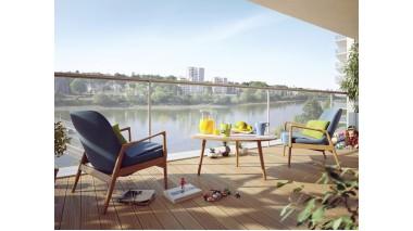 Appartement neuf Horizon Loire investissement loi Pinel à Nantes