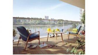 Appartements neufs Horizon Loire éco-habitat à Nantes