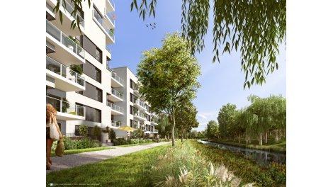 Appartement neuf Les Cadets éco-habitat à Rennes