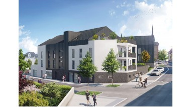 Appartement neuf Le Palerme investissement loi Pinel à Saint-Erblon