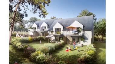 Appartement neuf Le Domaine du Roaliguen éco-habitat à Sarzeau