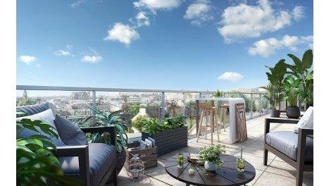Appartement neuf Neo Garden investissement loi Pinel à Vannes