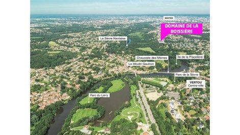 Maisons neuves Domaine de la Boissiere investissement loi Pinel à Vertou