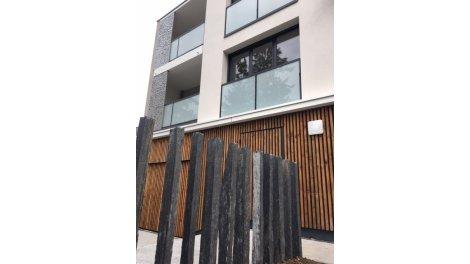 Appartement neuf Rive du Cens éco-habitat à Nantes