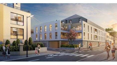 Appartement neuf Maïca investissement loi Pinel à Nantes