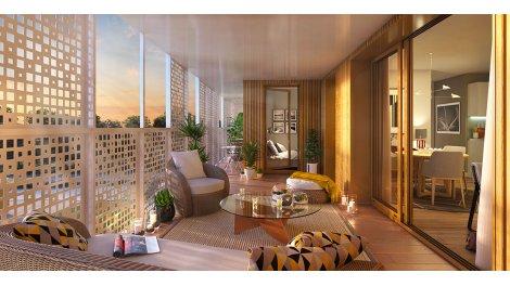 Appartement neuf Westwood éco-habitat à Chantepie