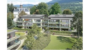 Appartement neuf Les Jardins de Bellevue investissement loi Pinel à Aix-les-Bains