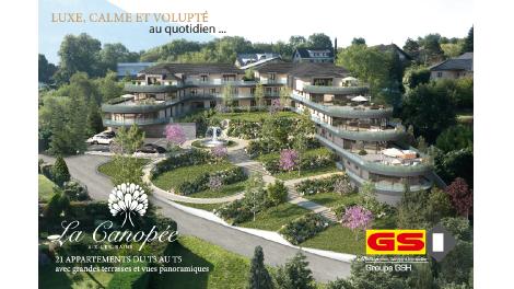 Appartement neuf La Canopée investissement loi Pinel à Aix-les-Bains