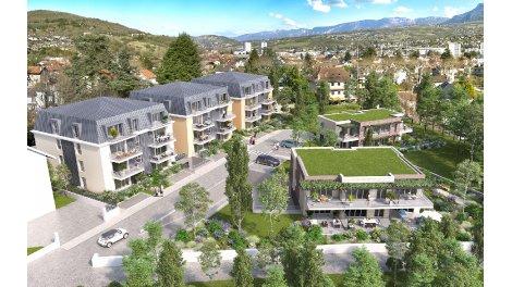 Appartement neuf Les Terrasses de la Michaudière investissement loi Pinel à Aix-les-Bains