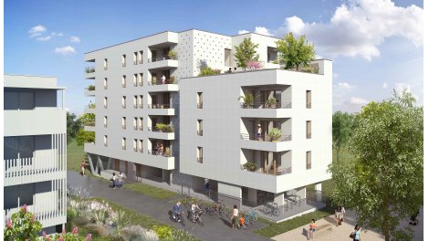 eco habitat neuf à Ostwald