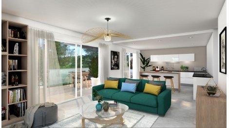 Appartement neuf Parc Angelo éco-habitat à Nîmes