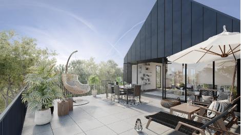 Appartement neuf Bègles - les Carrelets de l'Estey éco-habitat à Bègles