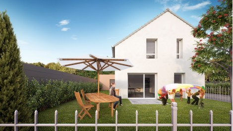 Maisons neuves Le Domaine de Bazo éco-habitat à Bazancourt
