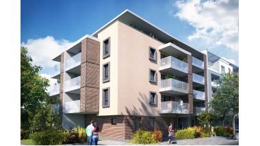Appartement neuf Résidence le Malt investissement loi Pinel à Strasbourg