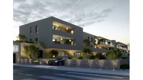 Appartement neuf Port Ariane éco-habitat à Montpellier