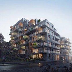 Appartement neuf L'Ecrin de Marianne éco-habitat à Montpellier