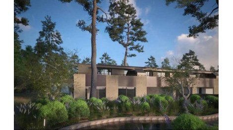 Appartement neuf Parc Saint Andre éco-habitat à Montpellier