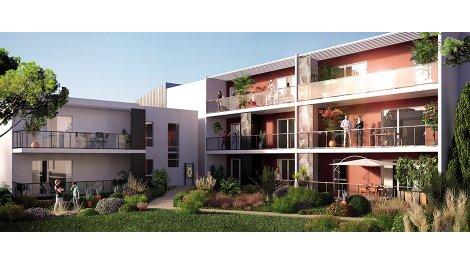 Appartement neuf Initiale éco-habitat à Montpellier