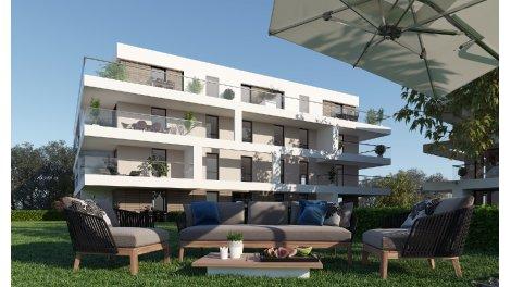 Appartement neuf Carre d'Eau éco-habitat à Montpellier