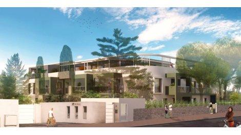 Appartement neuf Les Dryades d'Aiguelongue éco-habitat à Montpellier