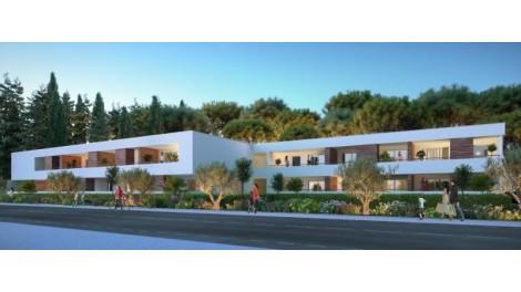 Appartement neuf Domaine de l'Aiguelongue éco-habitat à Montpellier