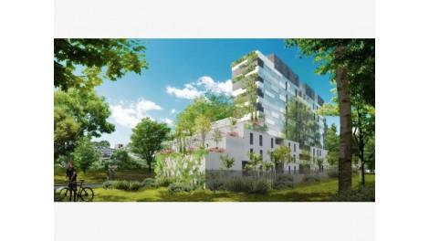 Appartement neuf Port Marianne éco-habitat à Montpellier