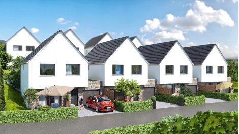 """Maisons neuves Résidence """"les Villas m"""" à Mommenheim éco-habitat à Mommenheim"""