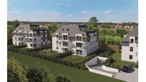 """Appartements neufs Résidence """"trio Verde"""" investissement loi Pinel à Niederhausbergen"""