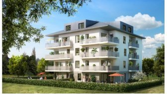 Appartements neufs K'Luna éco-habitat à Annemasse