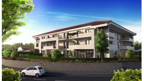 Appartement neuf Flower investissement loi Pinel à Saint-Jean-de-Gonville