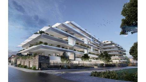 Appartement neuf Amaya Consuls de Mer Nouvelle Mairie éco-habitat à Montpellier