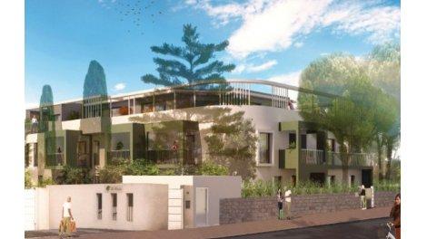 Appartement neuf Les Dryades éco-habitat à Montpellier
