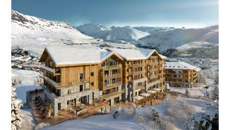 Appartement neuf Residence 5 Etoiles Daria I-Nor éco-habitat à L'Alpe-d'Huez