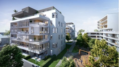 Appartements neufs Krystal investissement loi Pinel à Bischheim