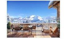 Appartements neufs Les Fermes du Mont-Blanc éco-habitat à Combloux