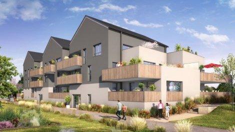 Appartement neuf Amasia Tranche 2 investissement loi Pinel à Bruz