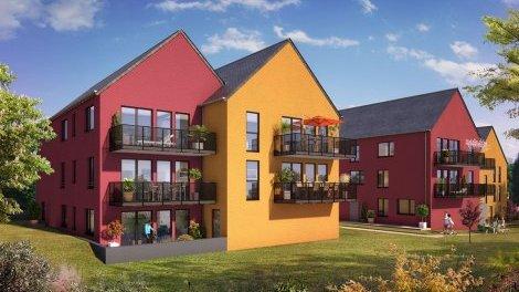 Appartement neuf La Promenade de Jeanne investissement loi Pinel à Saint-Erblon