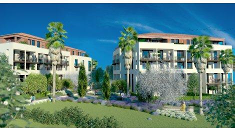Appartement neuf Le Jardin des Arts investissement loi Pinel à Hyères