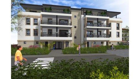 Appartements neufs Domaine de Molene éco-habitat à Moulins-Lès-Metz