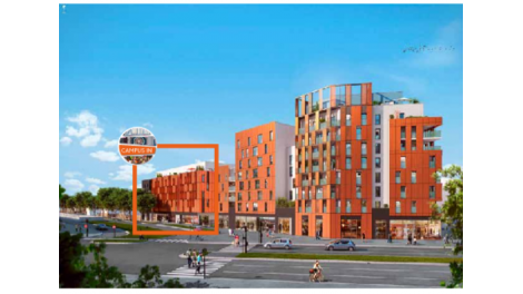 Programme immobilier neuf campus central rouen for Programme immobilier rouen