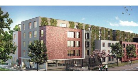 Appartement neuf Campus en Somme éco-habitat à Amiens