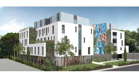 Appartement neuf Campus des Arts éco-habitat à Montpellier