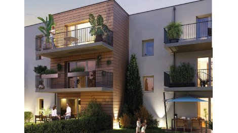 Appartement neuf Residence Neuvillette investissement loi Pinel à Reims