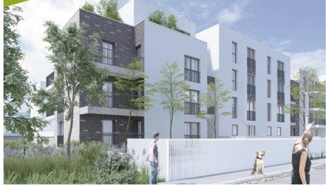 Appartement neuf Cour de Roissy investissement loi Pinel à Roissy-en-Brie