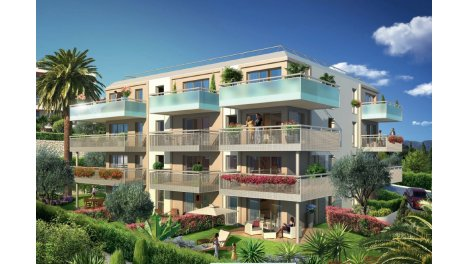 Appartement neuf Residence Arome investissement loi Pinel à Saint-Laurent-du-Var