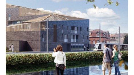 Appartements neufs Residence des Quais investissement loi Pinel à Tourcoing
